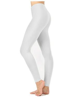 White Womens Leggings Walmart Com