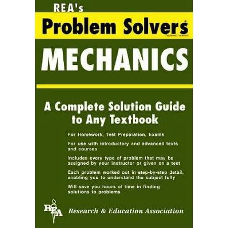 Rea's Problem Solvers: Mechanics: Statics & Dynamics Problem Solver (Paperback) Problem Solvers Steel Brake