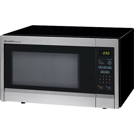 Sharp R331zs Carousel Countertop Microwave Oven 1 Cu Ft 1000w Stainless Steel