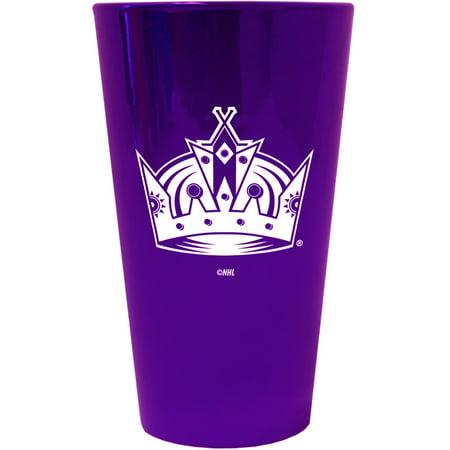 Los Angeles Kings - Logo Lusterware Pint Glass (Los Angeles Kings Glass)
