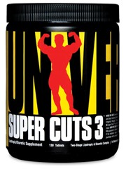Universal Nutrition Super Cuts 3 Weight Loss Supplement, 130 Ct, post natal fat burner,stacker fat burner review