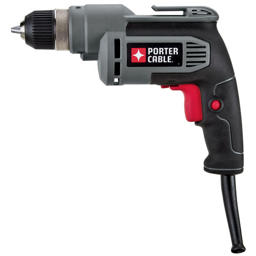 """Porter Cable-Piece600D 3/8"""" 6.0-Amp Drill"""
