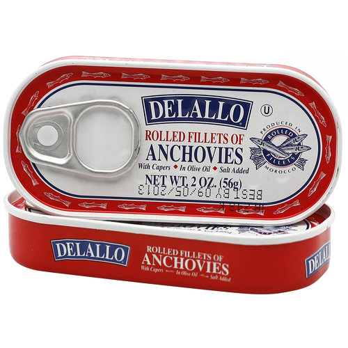 George DeLallo DeLallo  Anchovies, 2 oz