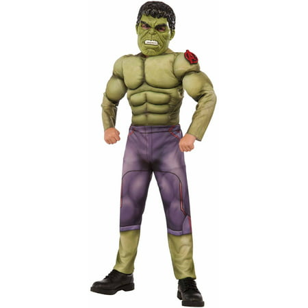 Avengers Hulk Muscle Chest Child Halloween Costume (Chest Hair Costume)