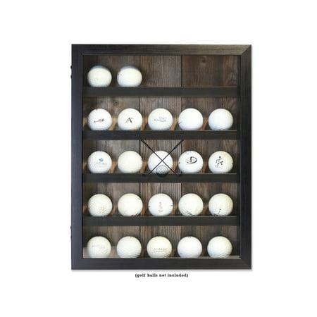 Golf Trophy Shadow Box - Lawrence 11x14 Golf Ball Shadow Box Display Case