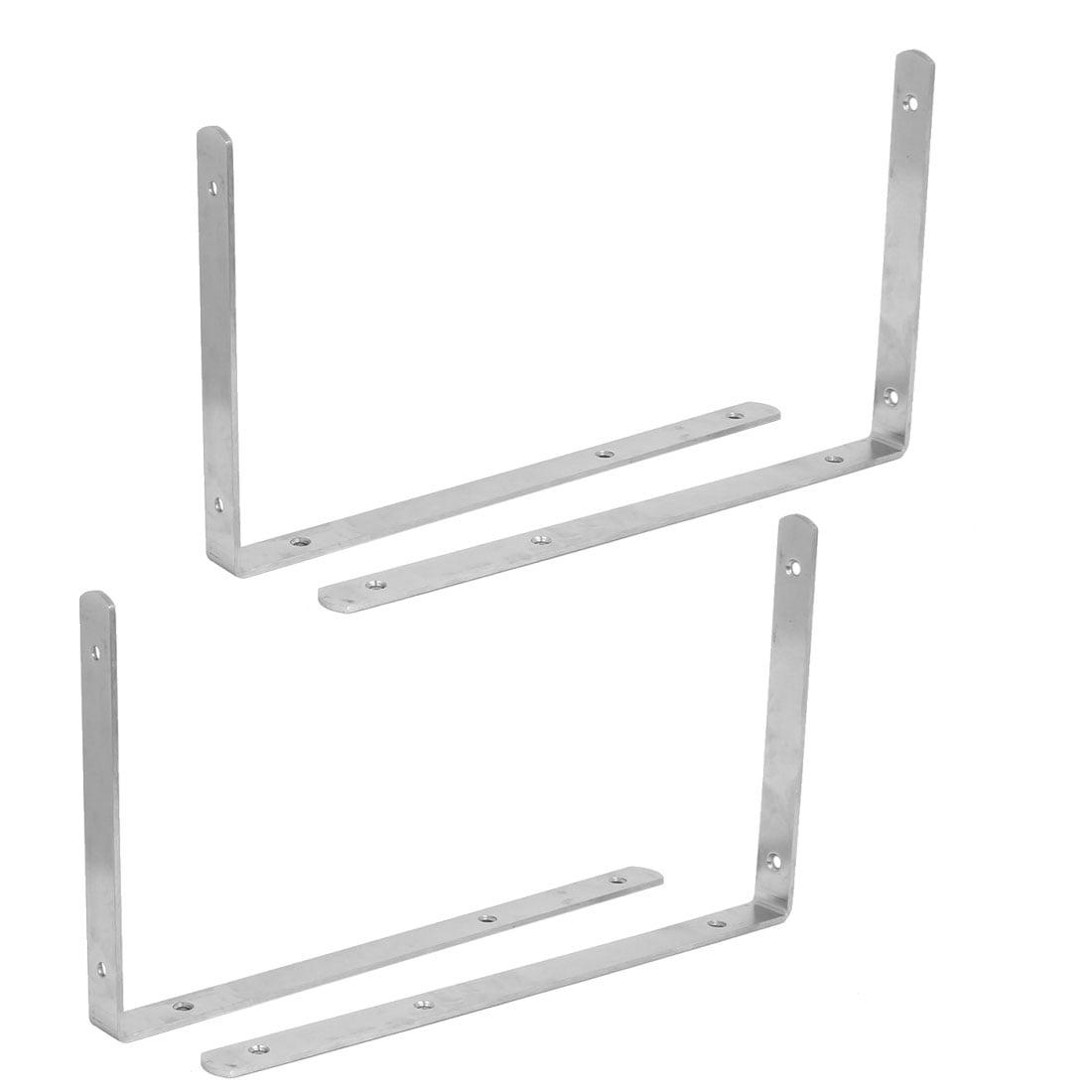 42mm x 42mm Stainless Steel Joint Right Angle Bracket 12 Pcs Corner Brace