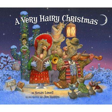 A Very Hairy Christmas (Hardcover) - Hairy Feet