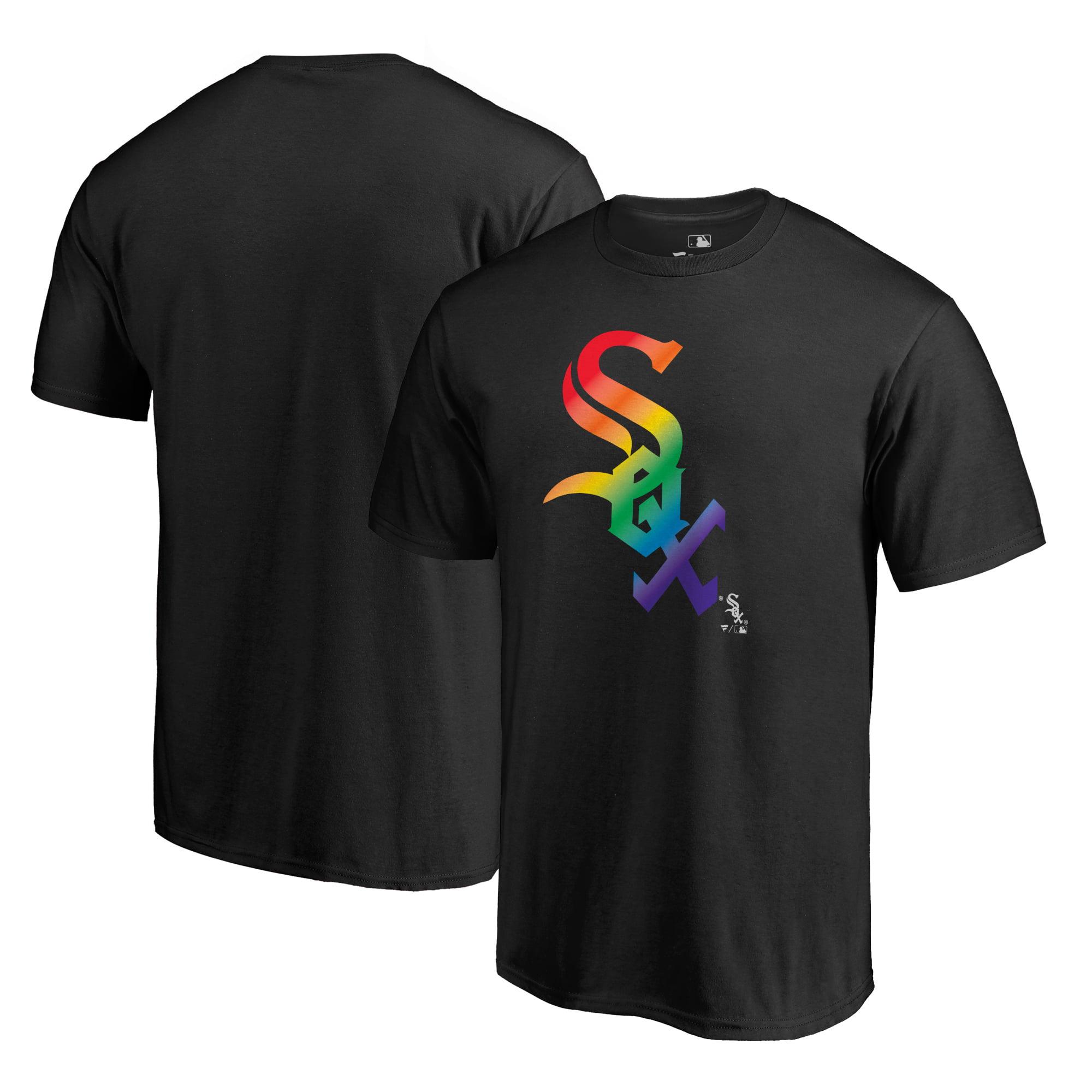 Chicago White Sox Fanatics Branded Pride T-Shirt - Black