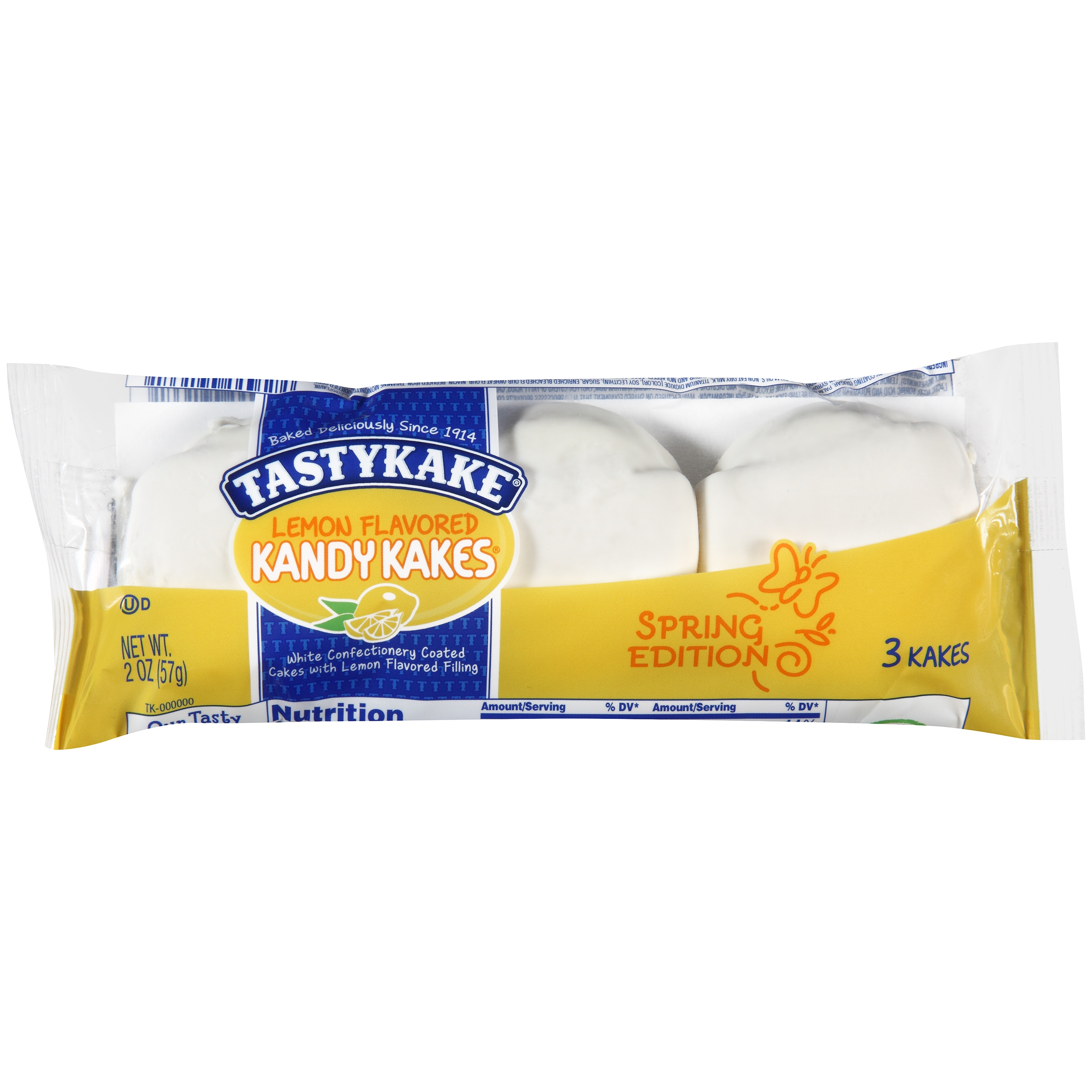 Tastykake® Lemon Flavored Kandy Kakes® 2 oz. Pack
