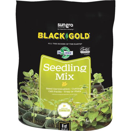 Black Gold Seedling - Black Gold 1411002 8 QT P 8 Quart Seedling Mix