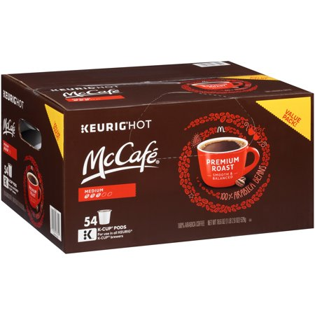 Mccafe Premium Medium Roast Coffee K Cup Pods  54 Count  18 6 Oz  529G
