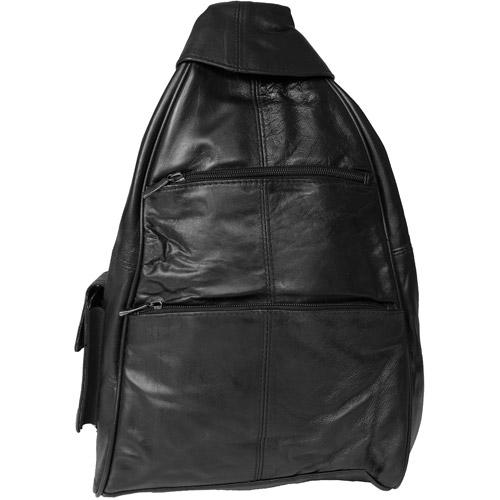 Brinley Co Genuine Leather Backpack
