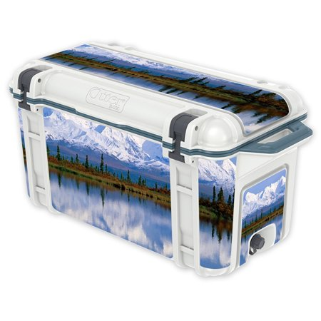 Skin Decal Wrap For Otterbox Venture 65 Qt Cooler Sticker Mountains