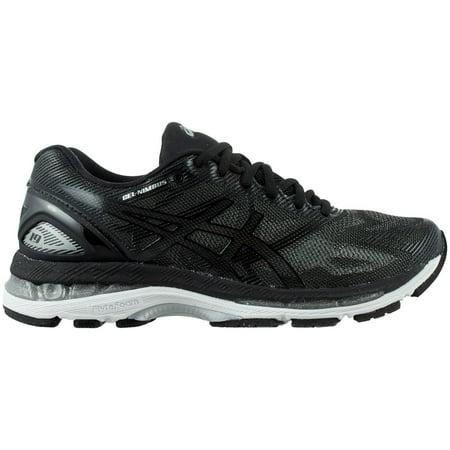 best cheap 968bb 2ac85 ASICS Women's GEL-Nimbus 19 Running Shoes (Black/Grey, 10.5)
