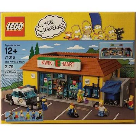 Lego Simpsons The Kwik E Mart 71016 Walmartcom