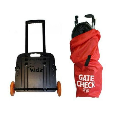 Gogo Babyz Kidz Travelmate With Umbrella Stroller Gate