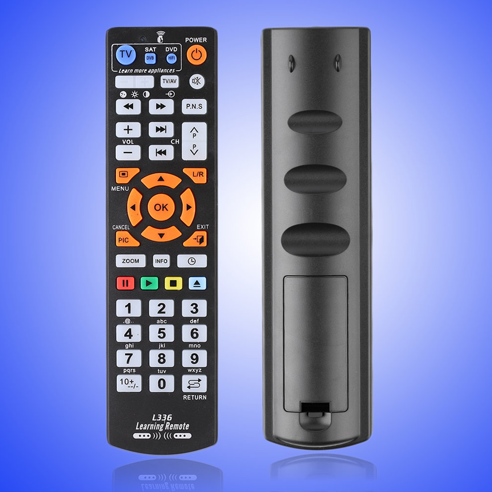 Black Universal Smart Remote Control Controller With Learning Function For TV CBL DVD SAT... by OUTAD