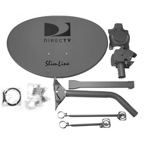 DirecTV Slim Line Reflector Dish Au9 - No Lnb [1 Pack] [s...