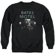 Bates Motel Motel Room Mens Crewneck Sweatshirt