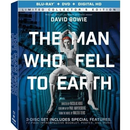 The Man Who Fell To Earth (Limited Collector's Edition) (Blu-ray + DVD + Digital HD) (Widescreen)