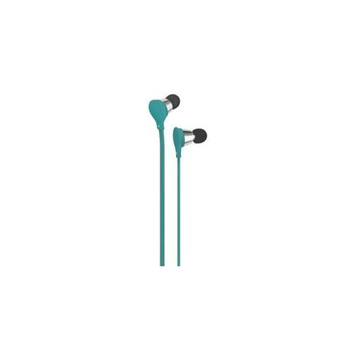 AT&T AT-EBM01-TURQ Jive Stereo Earbud with On/Off - Turquoise
