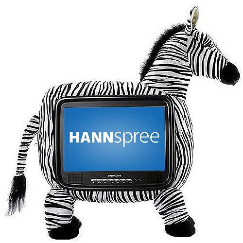 "Hannspree 19"" Class LCD 720p 60Hz HDTV, ST19ZMUB"