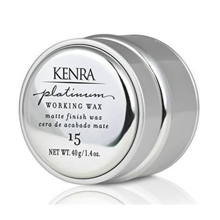 Working Wax (Kenra Platinum Working Wax #15,)