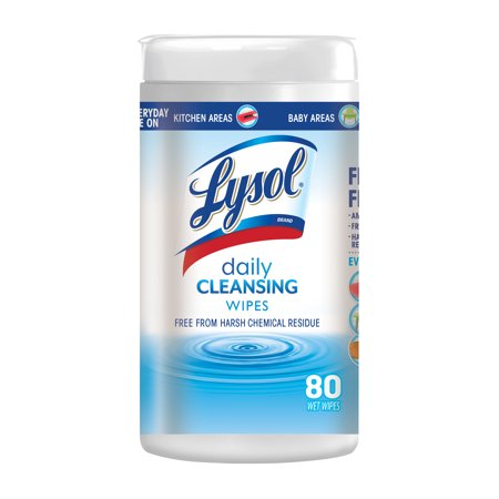 Lysol Daily Cleansing Wipes, 80ct ()