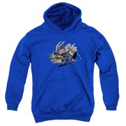 The Dark Knight Rises Back In The Game Big Boys Pullover Hoodie