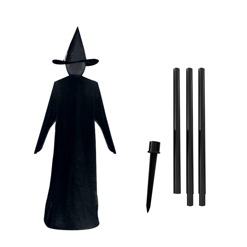 1PC Halloween Voice Control Induction Luminous  People Holding Hands Witch