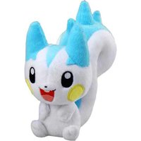 Pokemon Japanese Takara / Tomy Shopro 7 Inch Plush Figure Pachirisu