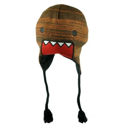 b5d01f840 Domo Kun Japanese Animation Supreme Lettering Felt Peruvian Knit Beanie Hat