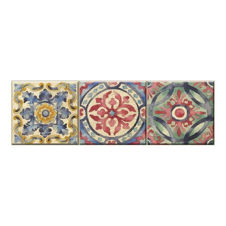 Tile Decals (WallPops Iznik Tile Stair Stripe Decal )