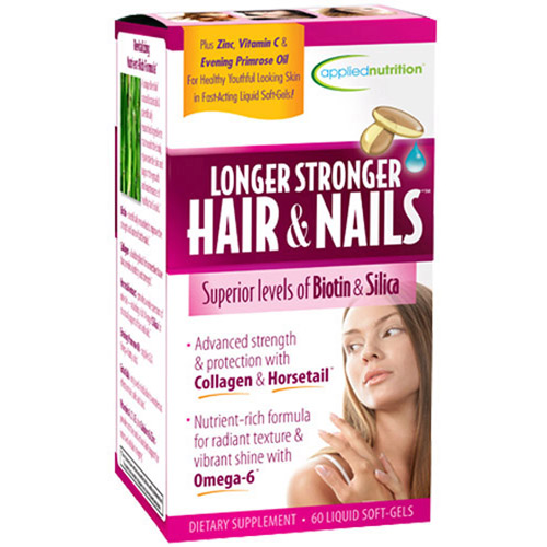 Longer Stronger Hair & Nails Supplement, 60ct