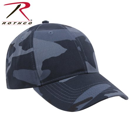 - Rothco Supreme Camo Low Profile Cap Midnight Blue Camo