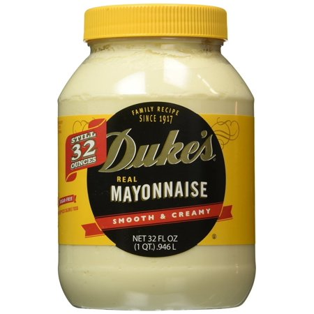 12 Packs   Dukes Mayonnaise  32 Ounce Jar