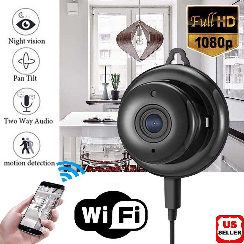 Wireless Mini WIFI IP Camera HD 1080P Night Vision Smart Home Security Camera