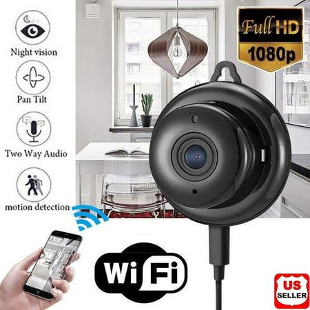 Security Equipment (Wireless Mini WIFI IP Camera HD 1080P Night Vision Smart Home Security Camera)