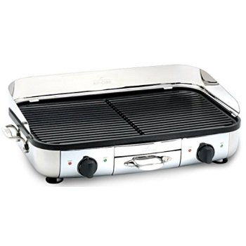 All-Clad TG700262 Electric Indoor Grill with Extra-Large Premium ...
