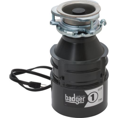 In-Sink-Erator 1/3 Hp Insinkerator Badger Disposer With I...