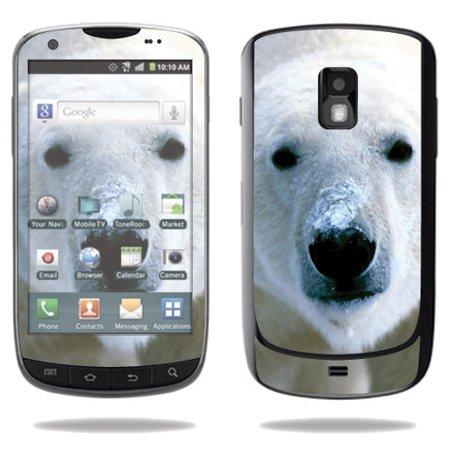 Aviator Bear - Mightyskins Protective Vinyl Skin Decal Cover for Samsung Galaxy S Aviator Cell Phone R930 wrap sticker skins Polar Bear