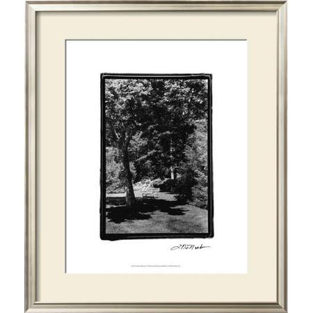 Garden Hideaway I Framed Art Print Wall Art  By Laura Denardo - 22.5x26.5