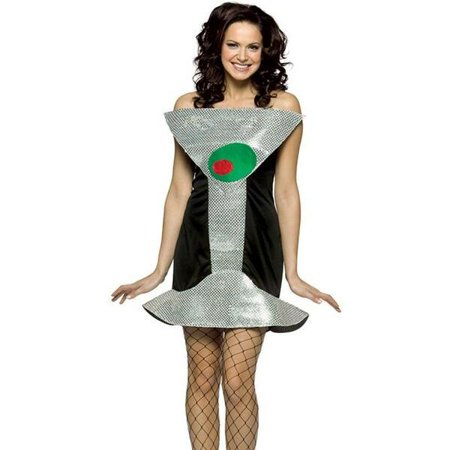Adult Martini Costume - Simple Halloween Martini
