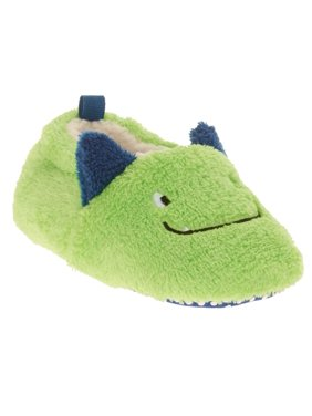 ddce619a5804 Product Image Infant Boys   Girls Plush Green Dragon Monster Slippers Baby  Prewalk Shoes