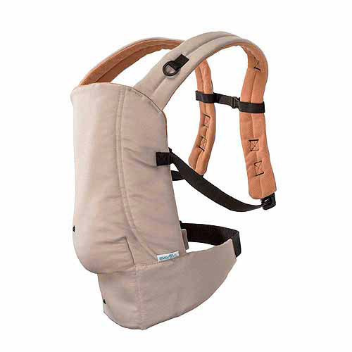 Evenflo Natural Fit Carrier, Khaki/Orange