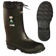 Baffin Size 7 Steel Toe Pac Winter Boots, Men's, Black, 85740000