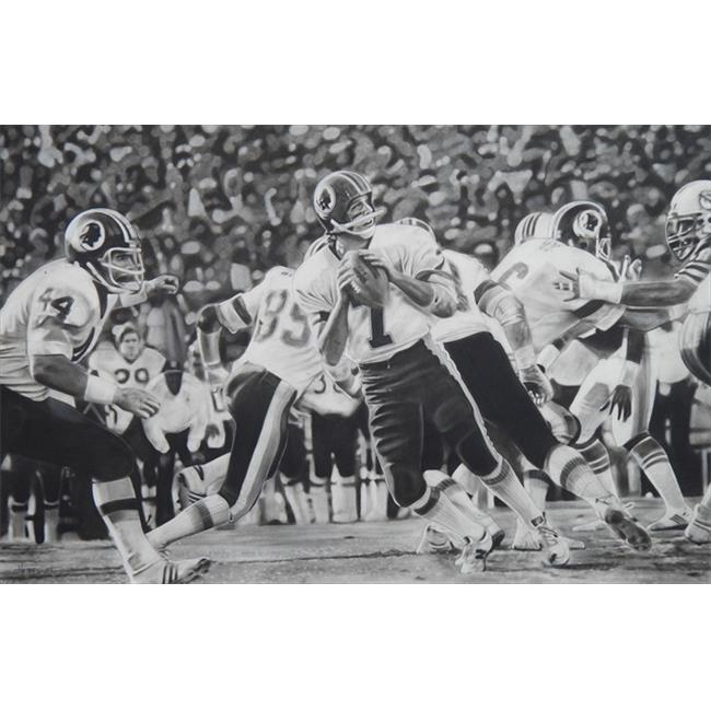 Deacon Jones Foundation DH-06R Hail Mary Art Print, by Dave Hobrecht - Rolled