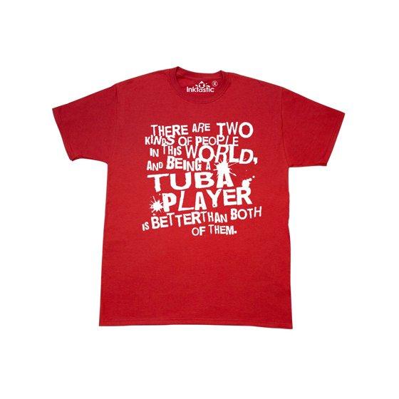 d9e68102 Inktastic - Tuba Funny Quote T-Shirt - Walmart.com