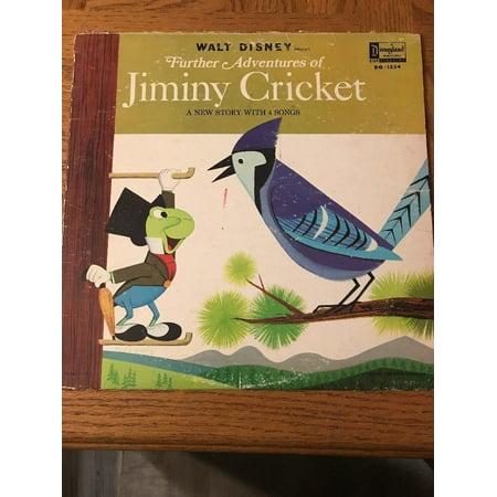 Walt Disney: Adventures Of Jiminy Cricket Album