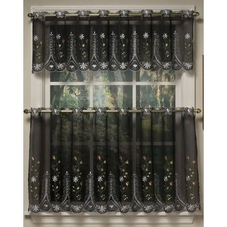 Samantha kitchen curtain - Kitchen curtains walmart ...